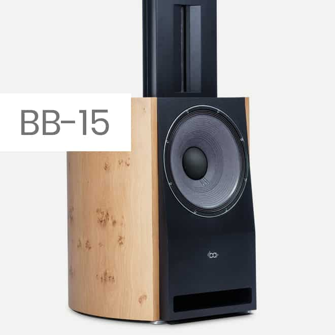 Bohne Audio BB-15: Ultra High End loudspeker with 15 inch JBL woofer
