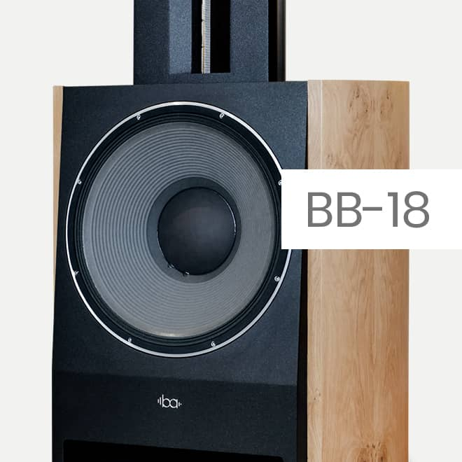 Bohne Audio BB-18: ultimate High End loudspeaker with 18 inch JBL woofer