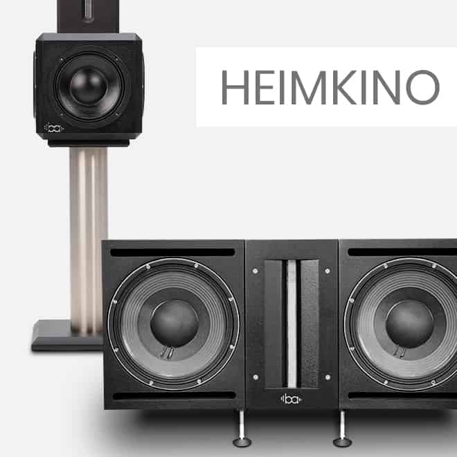 Bohne Audio Surround, Center und Subwoofer für High End Heimkino Anwendungen