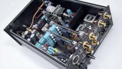 Innenleben der Audiospecials Phonolab 1.0 Phonovorstufe