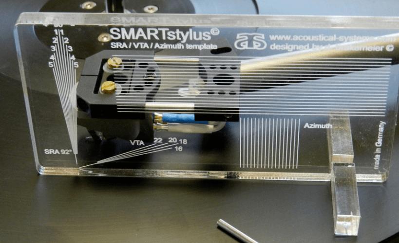 SMARTstylus: Werkzeug zur Ermittlung und Änderung des Stylus Rake Angles