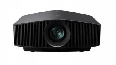 Sony 4K HDR Beamer VW760ES bei Bohne Audio im Test und zum Verkauf: Frontansicht