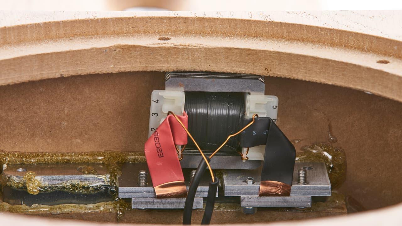 Bohne Audio BB-10 Aktivlautsprecher: Übertrager im Detail