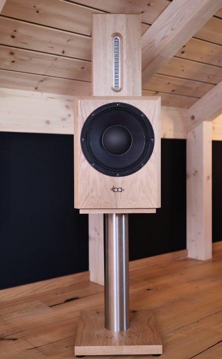 Bohne Audio BB-10 kompakter Aktivlautsprecher mit Lautsprecher-Ständer