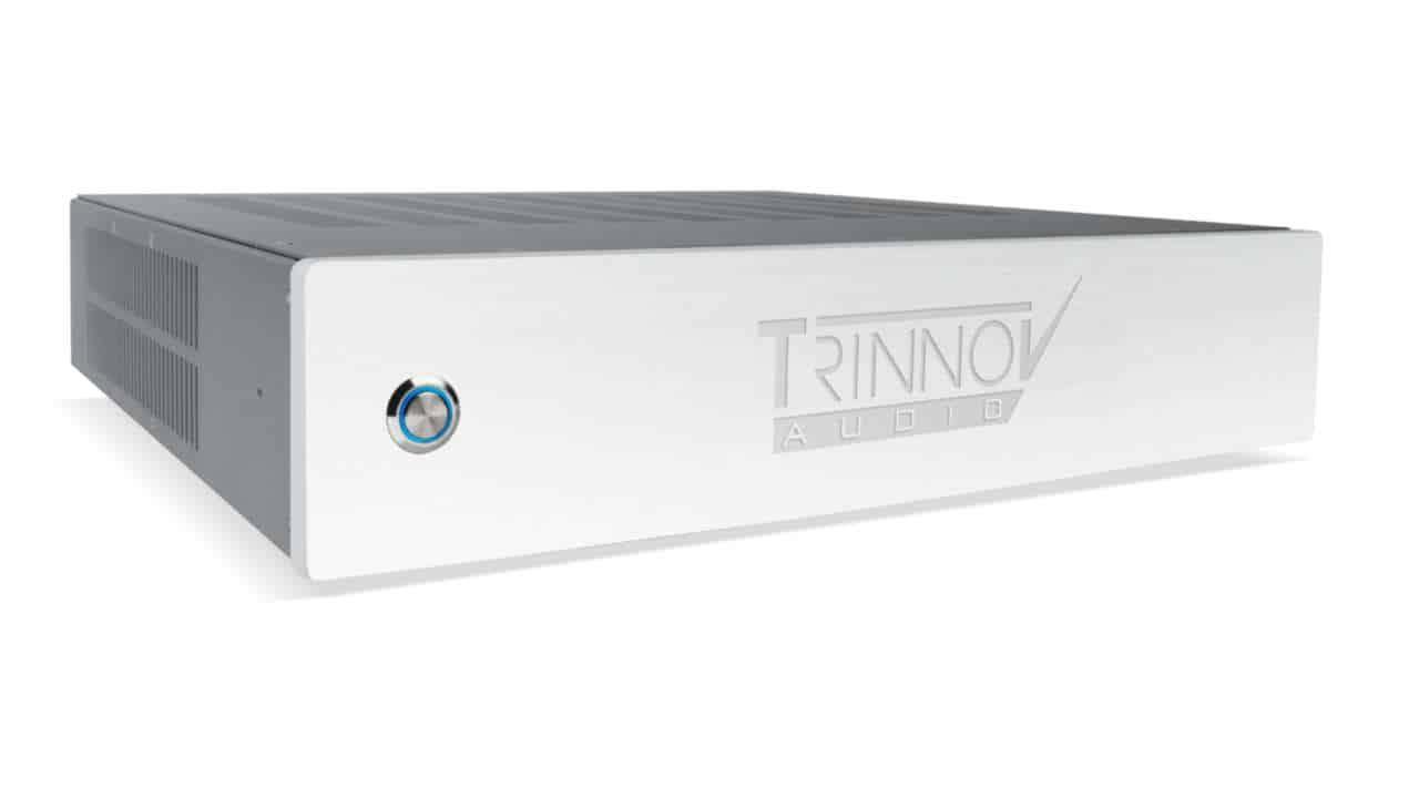 Trinnov ST-2 HiFi: seitliche Ansicht des High End Sound Prozessors für Raumkorrektur