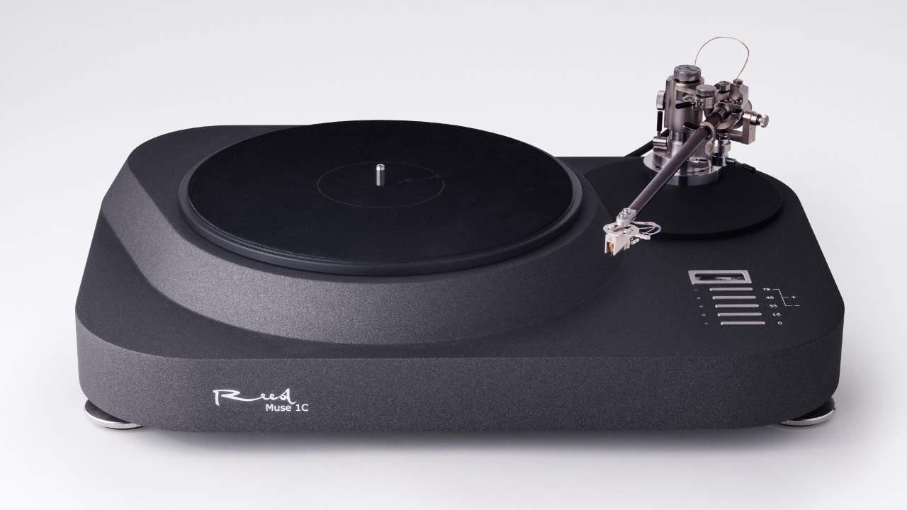 Reed Muse 1c: High End Plattenspieler mit Reibrad Antrieb