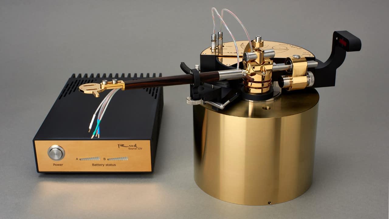Tangentialtonarm Reed 5T gold schwarz