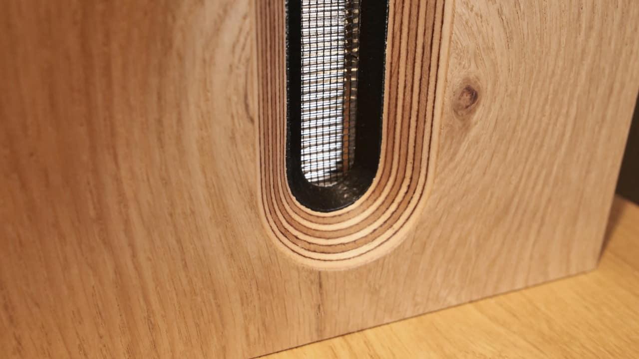 Bohne Audio BB-8 Kompaktlautsprecher Bändchen Detail