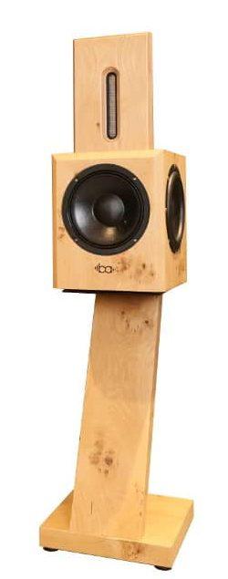 Bohne Audio BB-8 Kompaktlautsprecher mit Eiche Standfuß