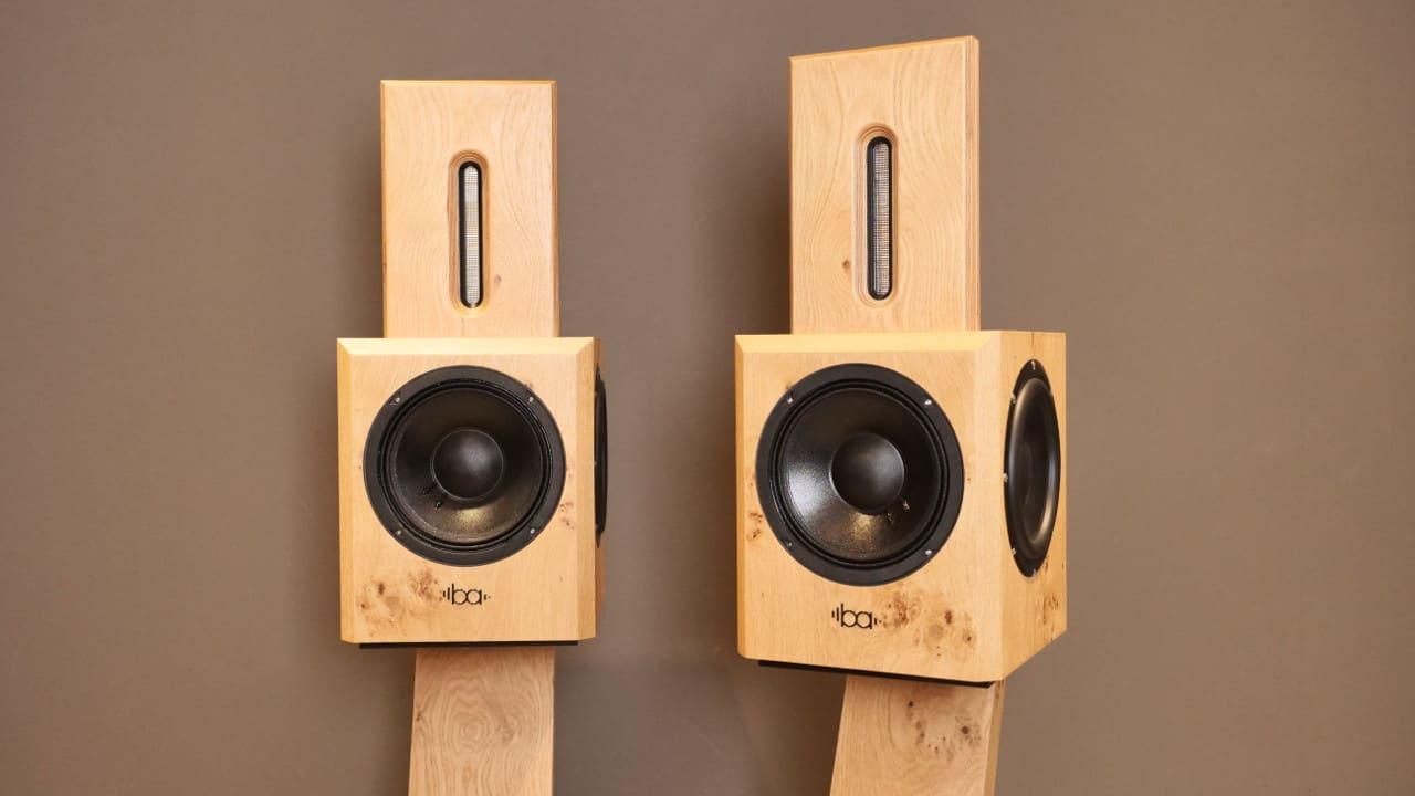 Bohne Audio BB-8 Kompaktlautsprecher mit 20 cm Bass und 2 Passivradiatoren