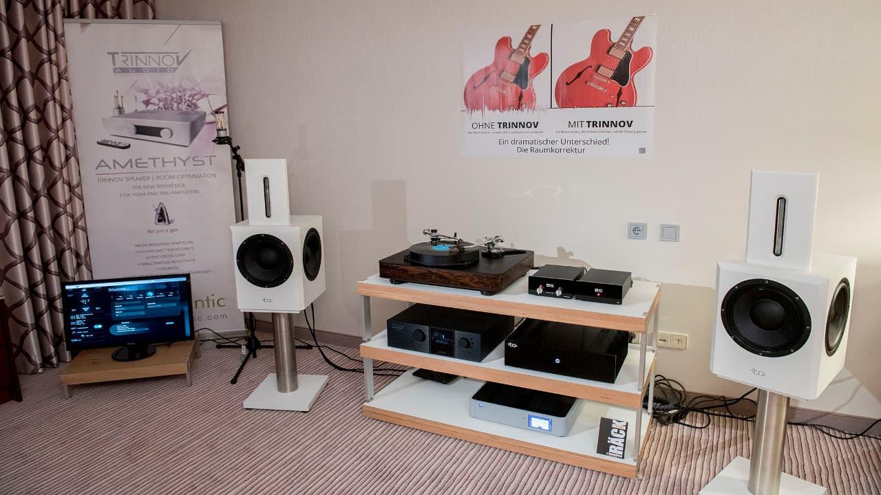 Westdeutsche Hifi Tage Bonn 2018: Bohne Audio mit Trinnov und Audiospecials