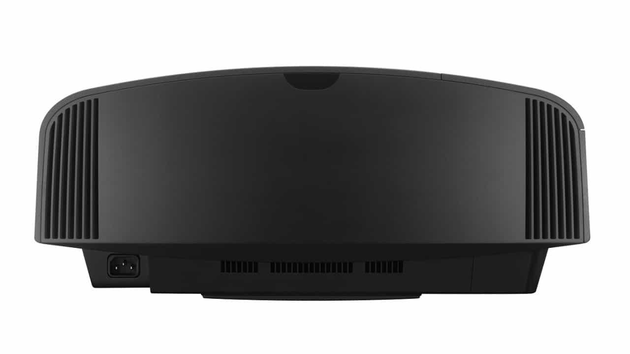 Sony 4K Beamer VPL-VW270ES schwarz von hinten: Top Angebot bei Bohne Audio
