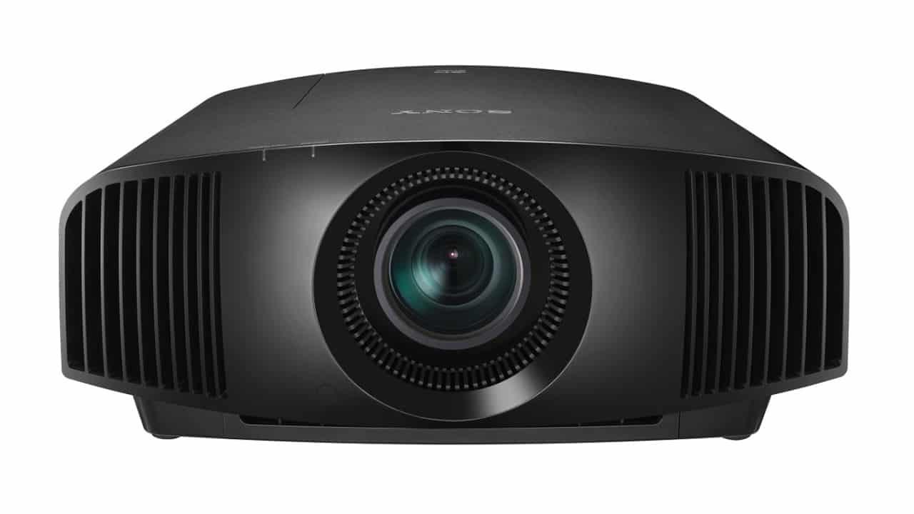 Sony 4K Beamer VPL-VW270ES schwarz von vorne: Top Angebot bei Bohne Audio