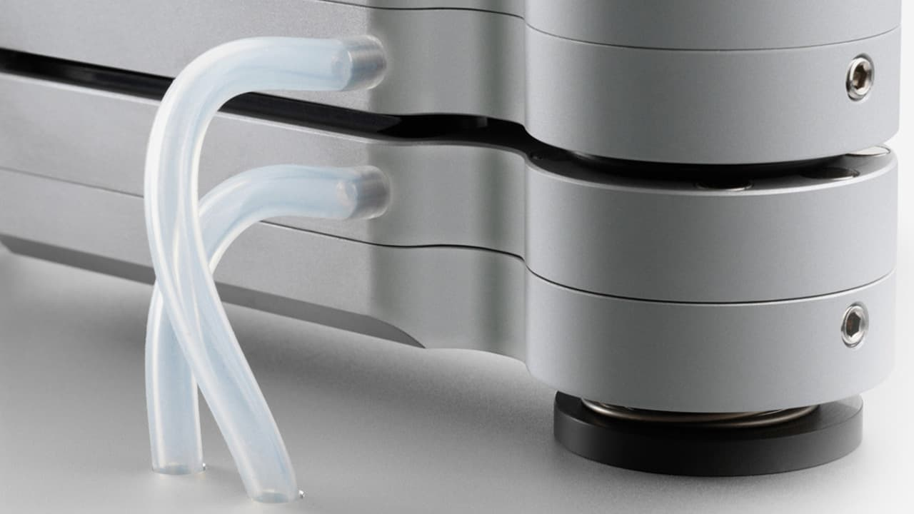 Absaugvorrichtung der Plattenwaschmaschine Clearaudio Double Matrix Professional Sonic