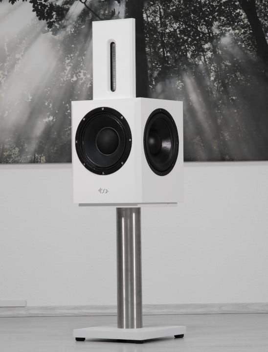 Bohne Audio Kompaktlautsprecher BB-10 in Weiss