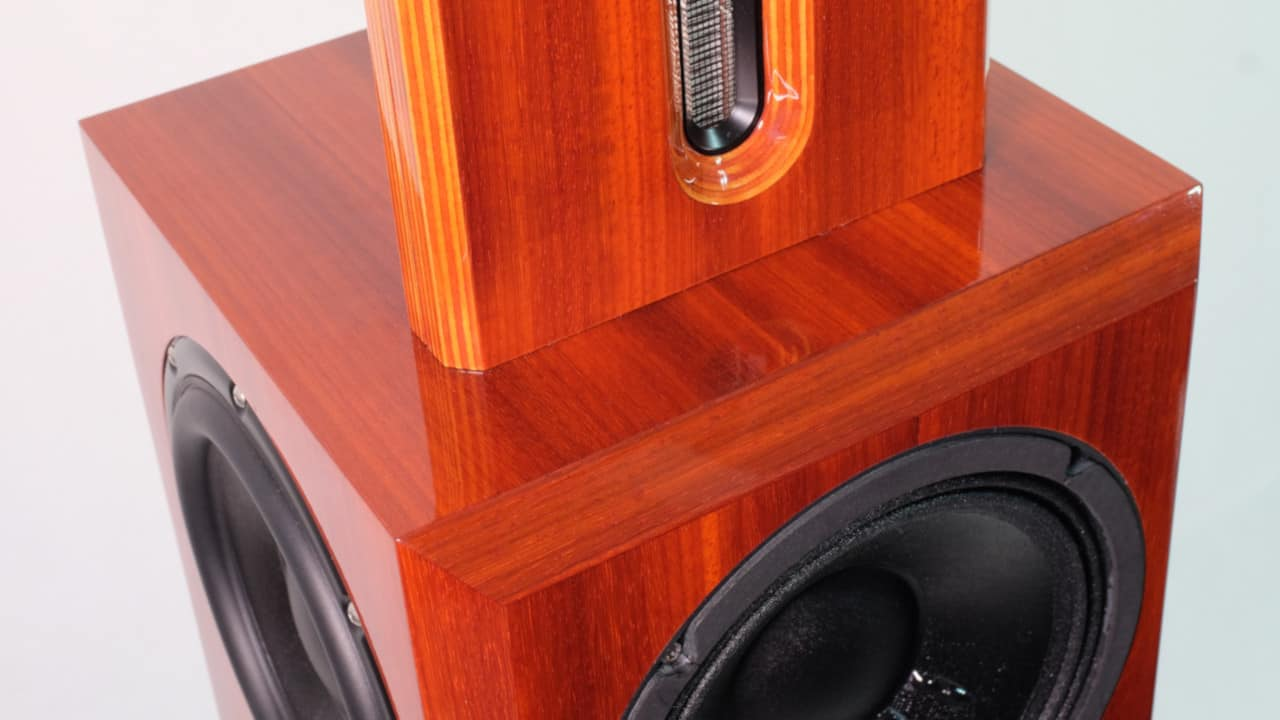 Bohne Audio BB-8 Kompaktlautsprecher Furnier Padouk