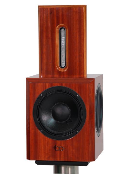 Bohne Audio BB-8 Kompaktlautsprecher Furnier Padouk von vorne