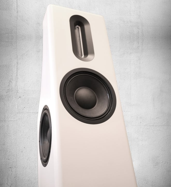 Bohne Audio BB-10L Standlautsprecher Lifestyle Serie Perspektive