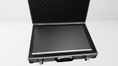 Linnenberg DAC Satie: hochwertige Alu Koffer Verpackung