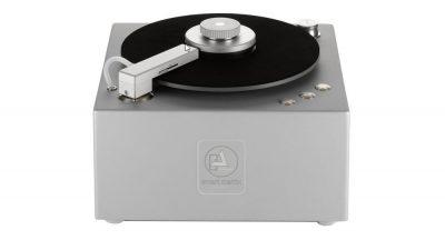 Clearaudio Smart Matrix Silent Plattenwaschmaschine in Silber