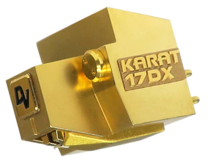 Dynavector Karat 17DX High End MC Tonabnehmer mit Diamantnadel