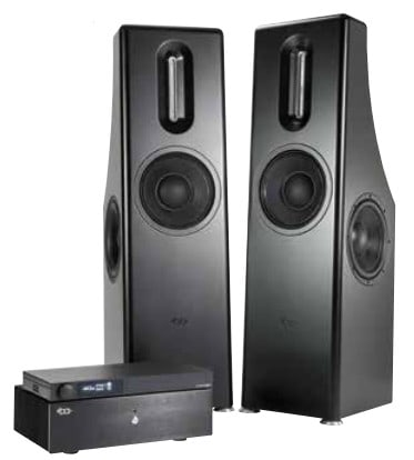 Bohne Audio BB-10L Aktivlautsprecher mit Vorverstärker und Endstufe im Paket