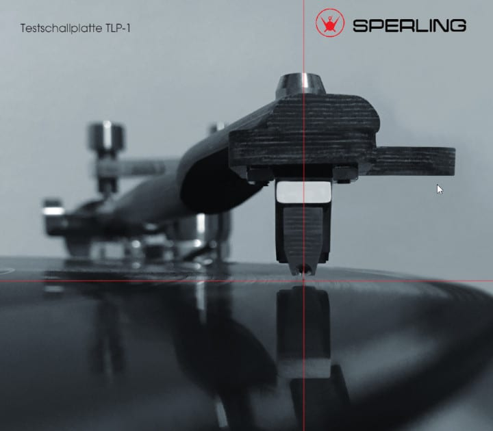 Sperling Audio Testplatte TLP-1 für Azimuth Messing bei Bohne Audio im Angebot