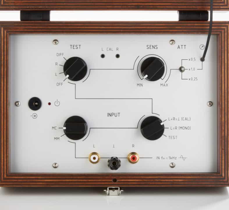 Sperling Audio PDM-1 Azimuth Messgerät - Detailansicht Einstelldrehknöpfe