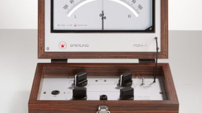 Sperling Audio PDM-1 Azimuth Messgerät - Ansicht Messung