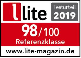 Lite-Magazin Testsiegel Rerferenzklasse Bohne Audio BB-10L