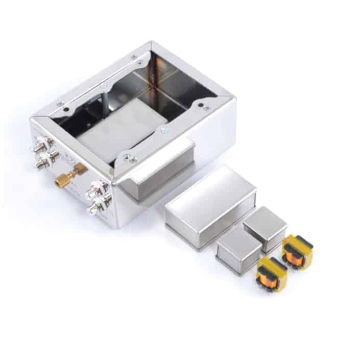 Qualiton MC Step-up Transformer: High End MC Übertrager mit 2 Übersetzungsverhältnissen ab Werk