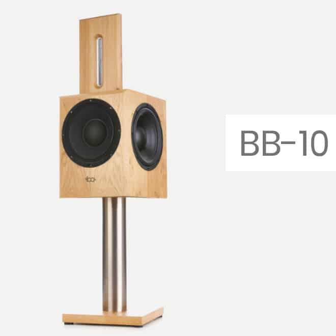 BB-10: aktiver Kompaktlautsprecher von Bohne Audio