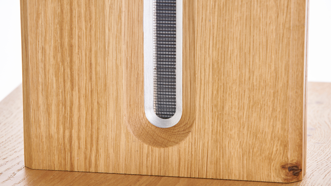 Bohne Audio Aktivlautsprecher BB-10 Bändchen Detail
