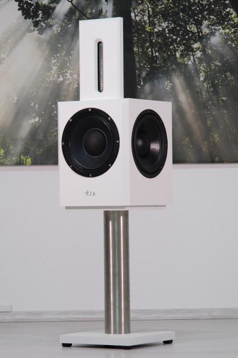 Bohne Audio aktiver Studiomonitor / Kompaktlautsprecher BB-10 mit Standuß