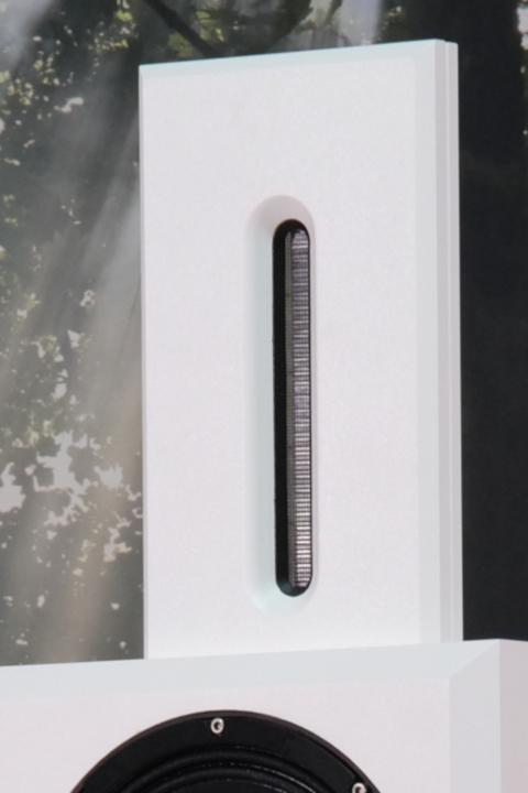 Bohne Audio aktiver Studiomonitor / Kompaktlautsprecher BB-10 Bändchen weiß Detail